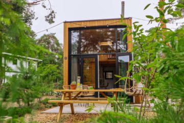 Tiny House vooraanzicht