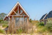 Tiny house tussen het duingras