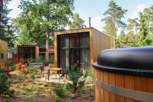 Hot tub te huur bij de tiny houses