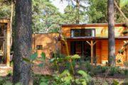 Houten tiny house in Beekbergen op de Veluwe