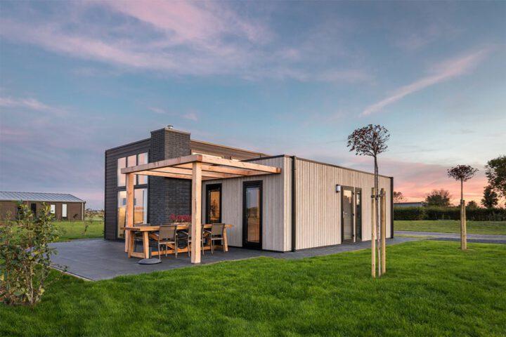 Vakantiehuis met terras en gras