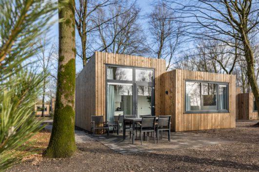 Houten lodges in Schaijk