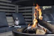 Vuurtje stoken bij je vakantiehuis