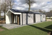 Duurzaam vakantiehuis met zonnepanelen