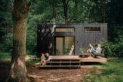 Tiny house in het bos in België