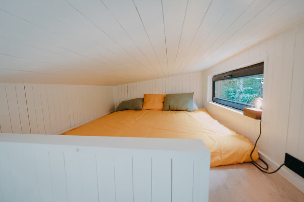 Slaapvide in het tiny house in België